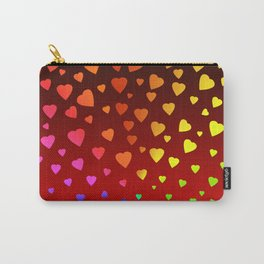 Showered In Vibrant Love Carry-All Pouch