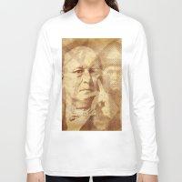 crowley Long Sleeve T-shirts featuring Mr. Crowley by Rodrigo Grola