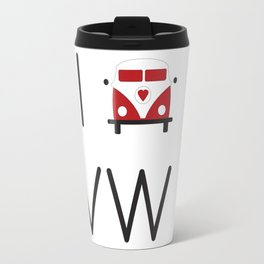 I heart Campervans Travel Mug
