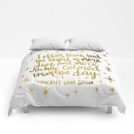 Night Owl on White Comforters
