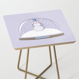 Snowman. Christmas Time. Side Table