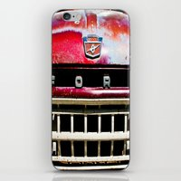 ford iPhone & iPod Skins featuring Old Ford by Kim Ramage
