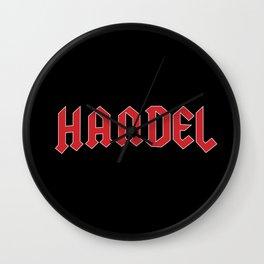 Rock Handel Wall Clock
