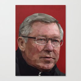 Sir Alex Ferguson Canvas Print