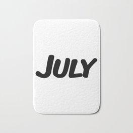 July Bath Mat