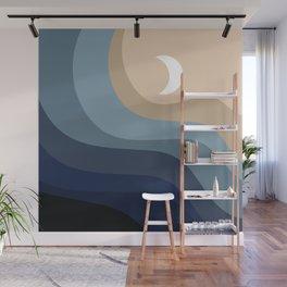Geometric Shapes // Moonlight Wall Mural
