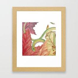 Snake Boi Framed Art Print