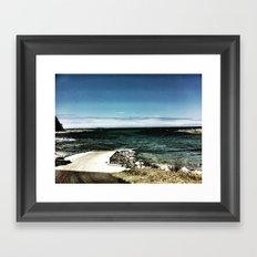 Coastal Inlet Framed Art Print