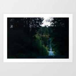Northwest Backroads Art Print