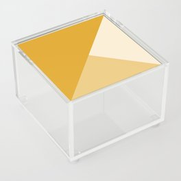 Mustard Tones Acrylic Box