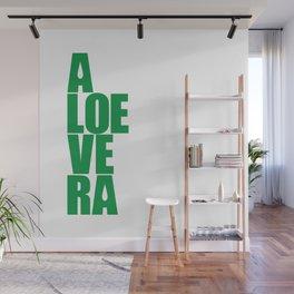 aloevera - keep calm and use aloe vera Wall Mural