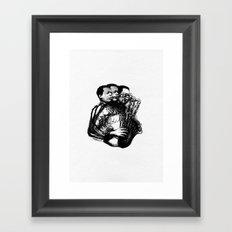 Jazz-3 Framed Art Print