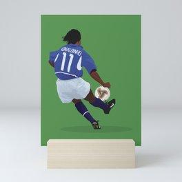 2002 Ronaldinho Art Print Mini Art Print