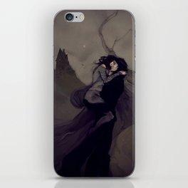The Darkened Plain iPhone Skin