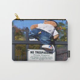 No Trespassing Carry-All Pouch