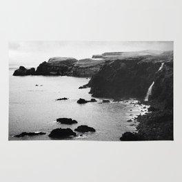 Azores coastal landscape Rug
