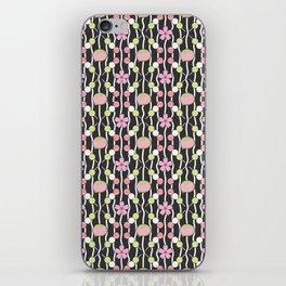 Hanami Nummies   Black iPhone Skin