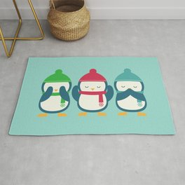 No Evil In Holiday Rug