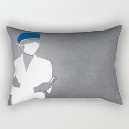 Anesthesiology Rectangular Pillow