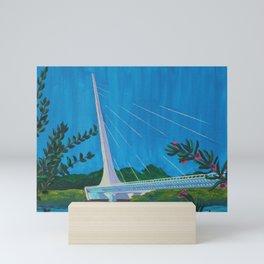 Sacramento Sundial Mini Art Print