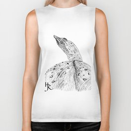 Spiny Softshell Turtle Biker Tank