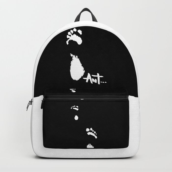 foot prints footprints Backpack