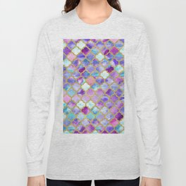 Magenta Moroccan Long Sleeve T-shirt