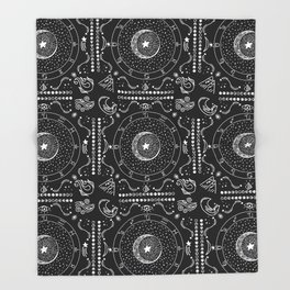 Zodiac Bandana Throw Blanket