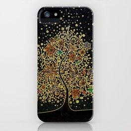 The Luminous Tree iPhone Case