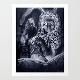 Velveteen Seamstress Art Print