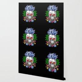Psychedelic Skull Wallpaper