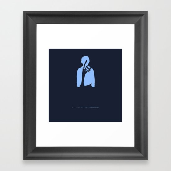 I'll Be Right Here -E.T. : The Extra-Terrestrial Framed Art Print