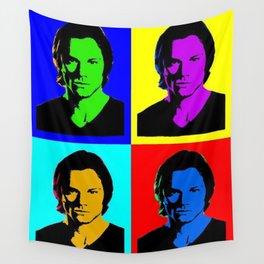 Jared Padalecki Pop Art Wall Tapestry