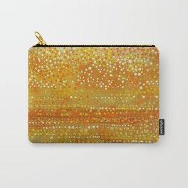 Landscape Dots - Orange Carry-All Pouch