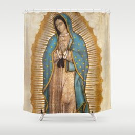 Virgin Guadalupe Shower Curtain