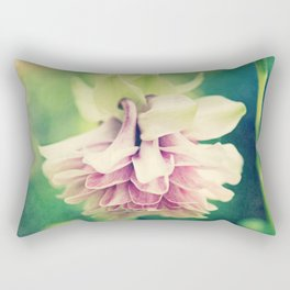 Vintage Pink Ruffles Rectangular Pillow