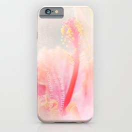 Pouring Light iPhone Case