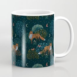 Forest Foxes Coffee Mug
