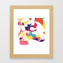 Color joy Framed Art Print