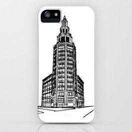 the Electric Tower iPhone Case