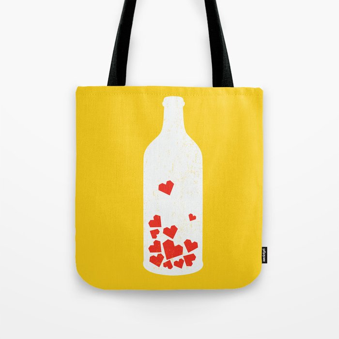 message in a bottle tote bag by budikwan society6. Black Bedroom Furniture Sets. Home Design Ideas