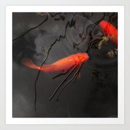 goldfish II Art Print