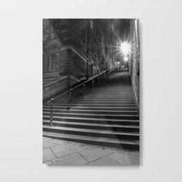 Too Many Steps Metal Print