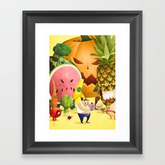 Know What's Good For You Framed Art Print
