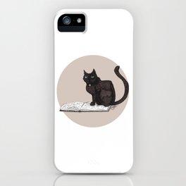 Feeling Bookish iPhone Case