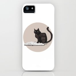 Feeling Bookish iPhone Case