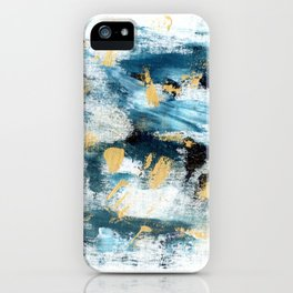 Winter Lights - Abstract Painting iPhone Case