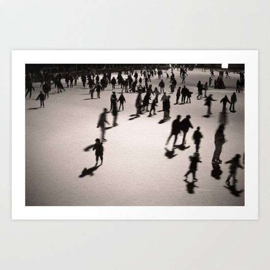 Holiday on Ice Art Print