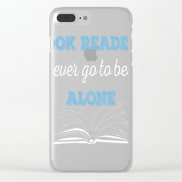 Book Reader Clear iPhone Case