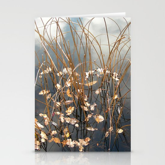 water grasses II Stationery Cards
